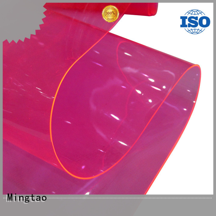 Mingtao High-quality pvc leather sheet company