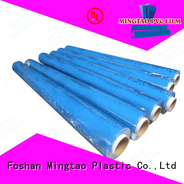 Mingtao funky clear pvc sheet OEM for television cove