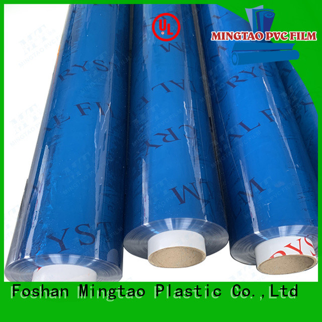 Mingtao solid mesh embossed pvc film customization for packing