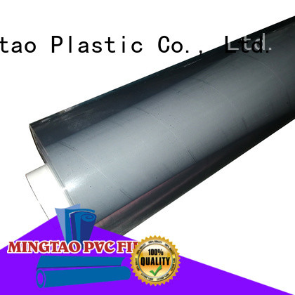Mingtao high-quality pvc super clear film* bulk production for television cove