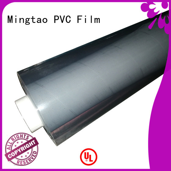 Mingtao at discount flexible pvc film bulk production for packing