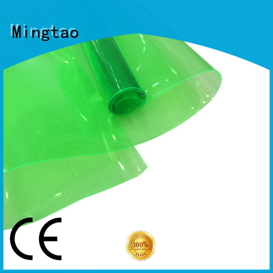 Mingtao pvc coated polyester fabric factory