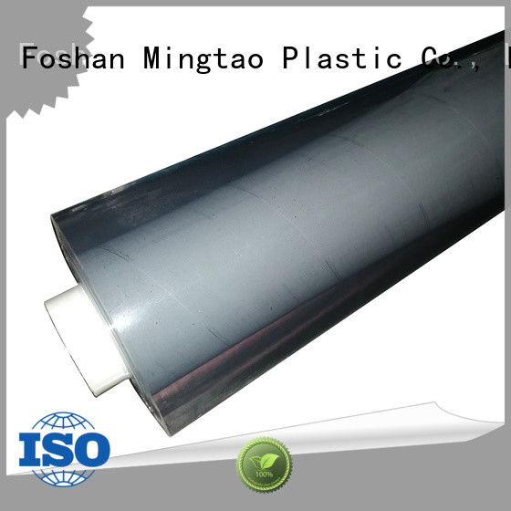 Mingtao blue pvc film transparent ODM for packing