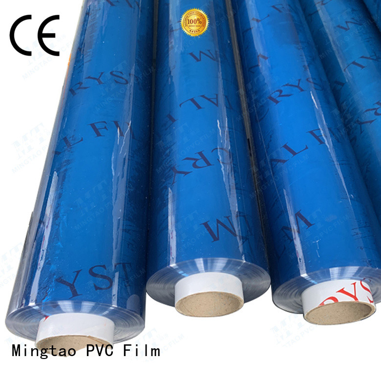 Breathable pvc film suppliers pvc OEM for table mat