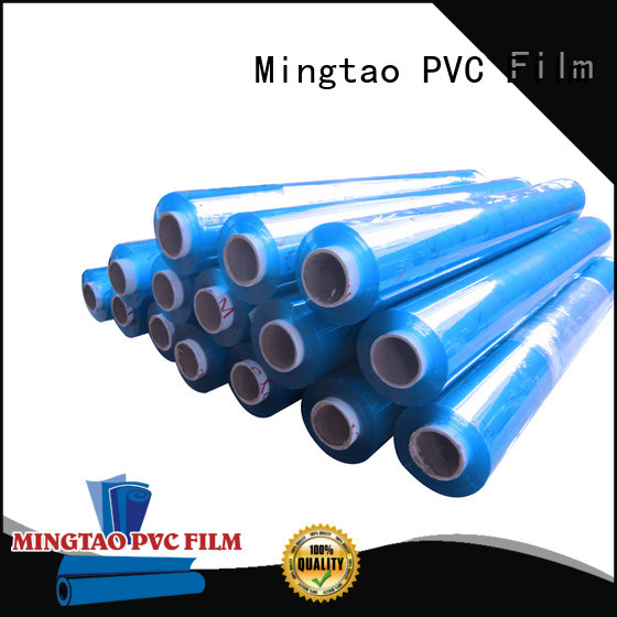 Mingtao Breathable clear pvc sheet OEM for book covers