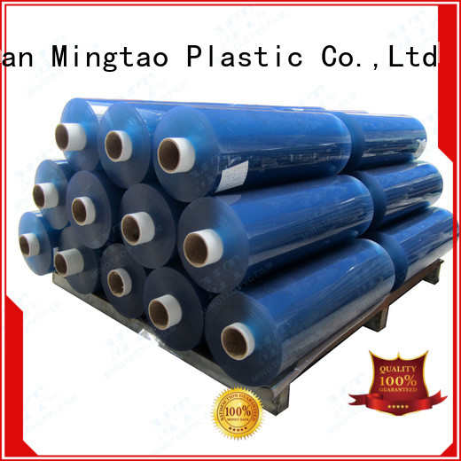 Mingtao portable flexible pvc film free sample for table cover