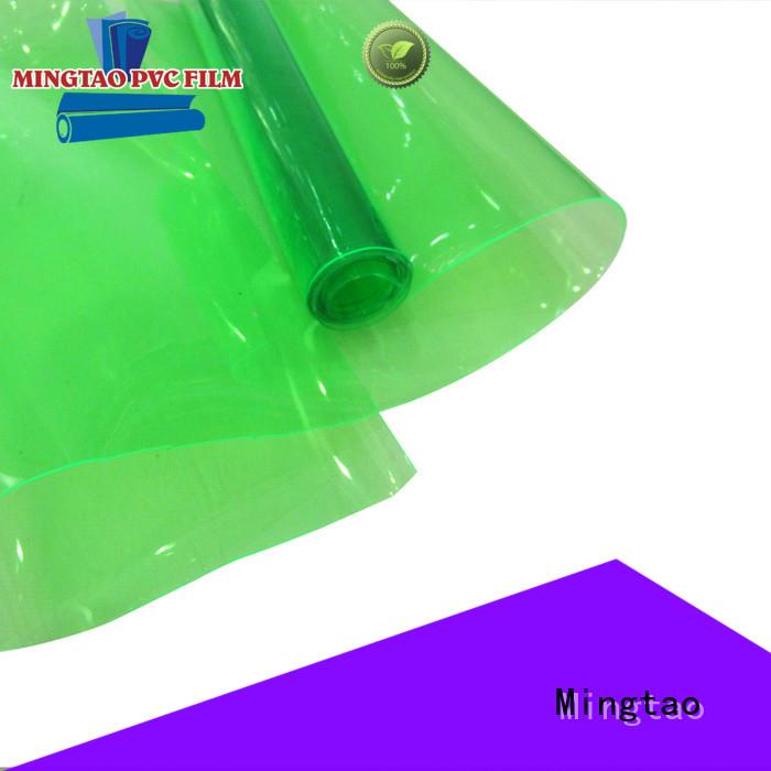Mingtao vinyl upholstery fabric factory
