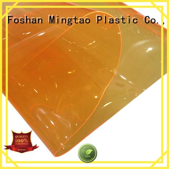 Mingtao waterproof vinyl fabric factory