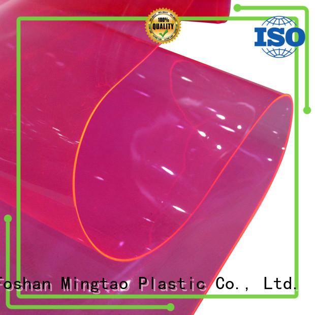 Mingtao vinyl leather for business