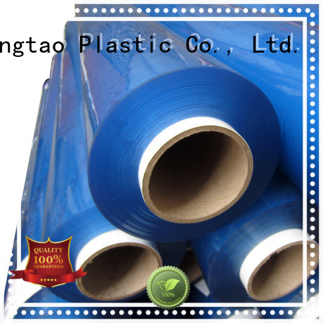 Mingtao white pvc super clear film* get quote for table cover