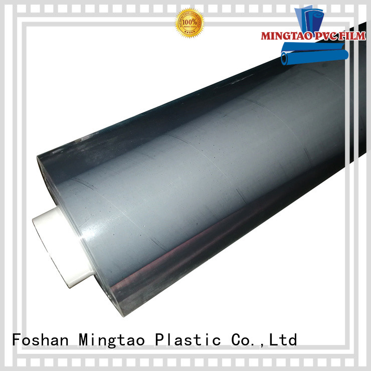 Mingtao pvc colored pvc sheets customization for table mat
