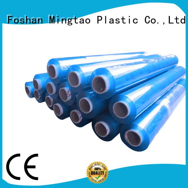 Mingtao sheet pvc clear plastic sheet OEM for table mat