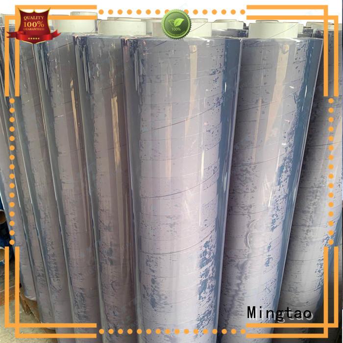 Mingtao film pvc film transparent free sample for table mat