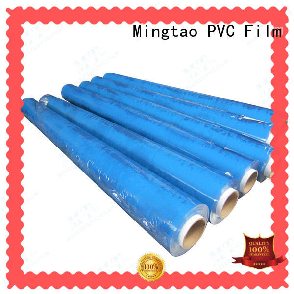 Mingtao white thick clear plastic film supplier for packing