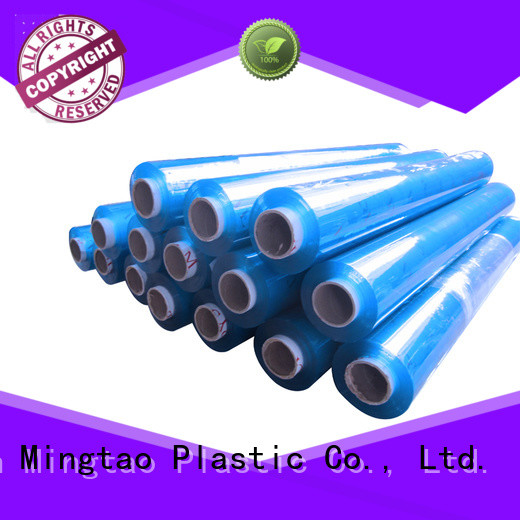 Mingtao white clear pvc sheet get quote for television cove