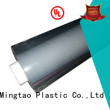Mingtao funky 3mm pvc sheet bulk production for table mat