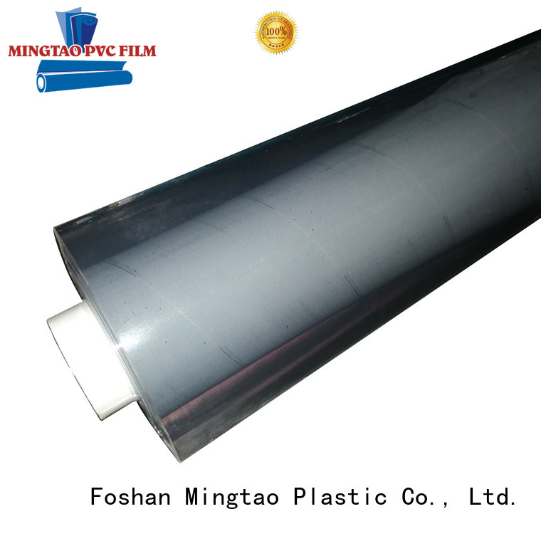Mingtao flexible pvc film transparent OEM for packing