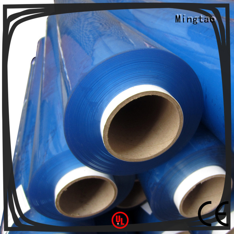 Mingtao film clear pvc film plastic sheet rolls clear* pvc transparent sheet get quote for television cove