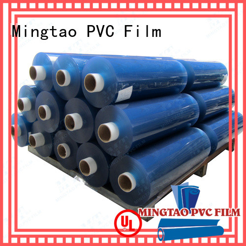 Mingtao vinyl flexible clear plastic sheet get quote for table cover