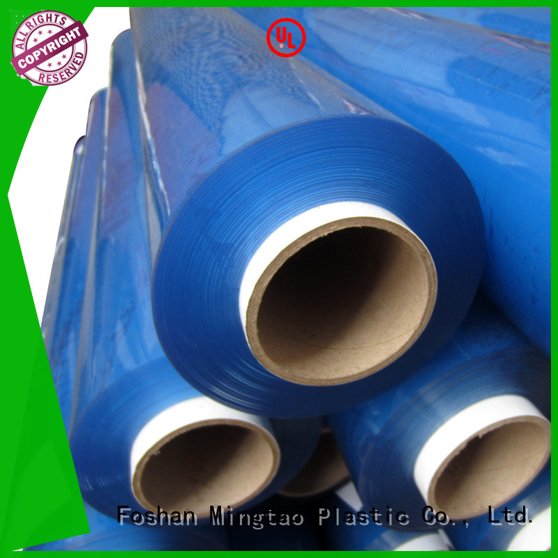 Mingtao selling pvc super clear film* buy now for table cover