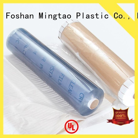 Mingtao super clear transparent pvc film buy now for table cover