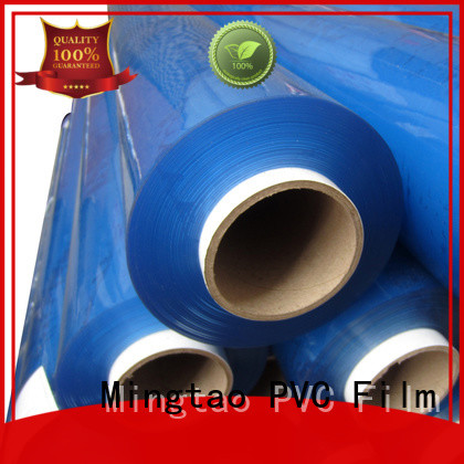 Mingtao quality super clear pvc sheet customization for table cover