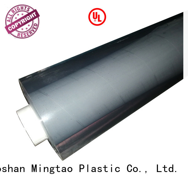 blue pvc film ODM for packing Mingtao