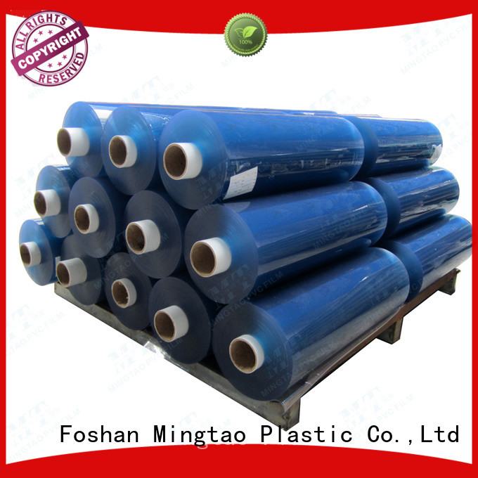 Mingtao latest super clear pvc film OEM for packing