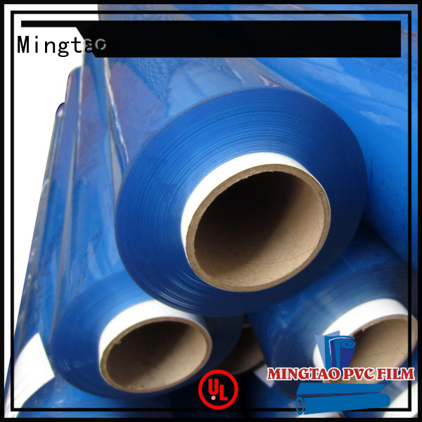 Mingtao flexible super clear pvc sheet for wholesale for packing