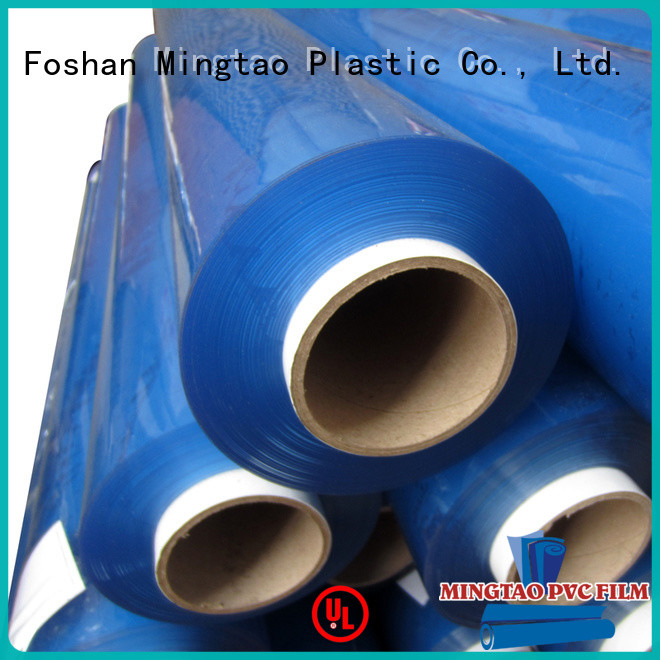 Mingtao solid mesh clear pvc roll supplier for television cove