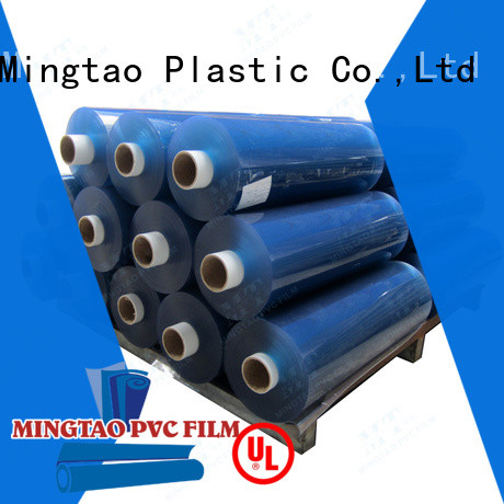 Mingtao pvc pvc film suppliers customization for table mat