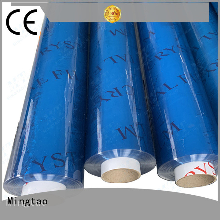 Mingtao portable pvc clear plastic sheet buy now for table cover