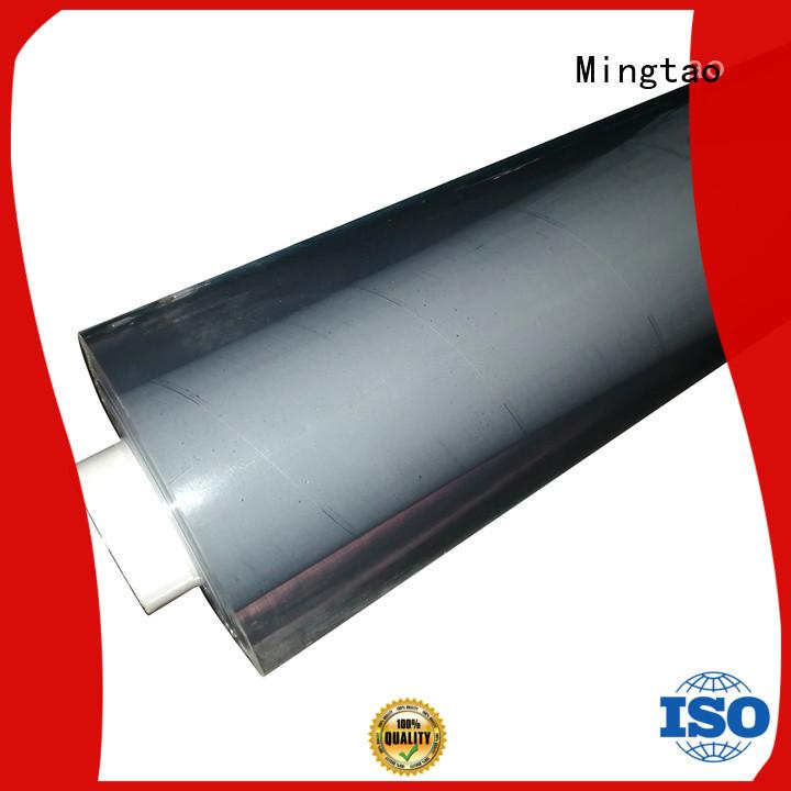 Mingtao at discount transparent pvc film bulk production for television cove
