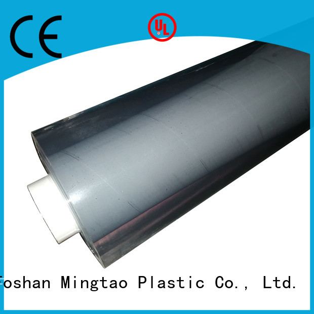 durable plastic film transparent customization for television cove
