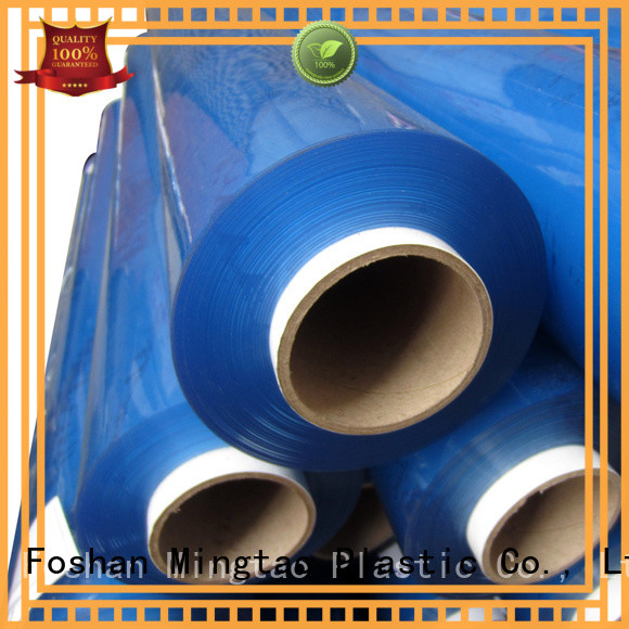 Mingtao sheet clear pvc sheet free sample for table cover