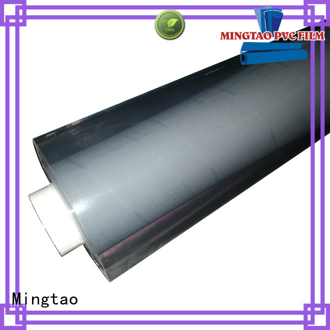 Mingtao portable flexible clear plastic sheet customization for packing