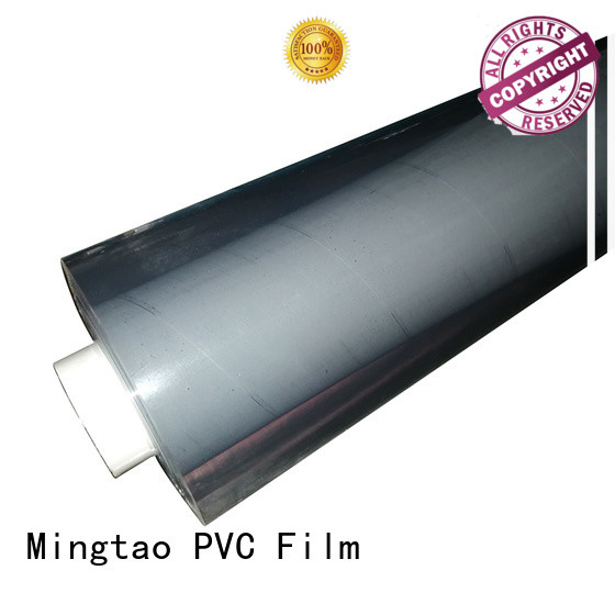 Mingtao solid mesh clear pvc sheet manufacturers bulk production for packing