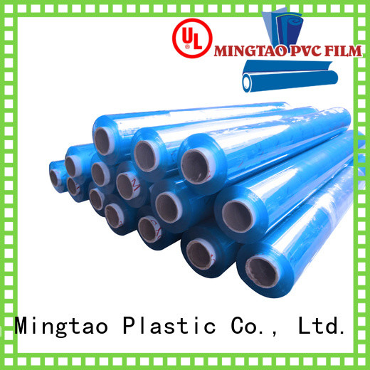 Mingtao super clear pvc plastic sheet roll customization for table mat