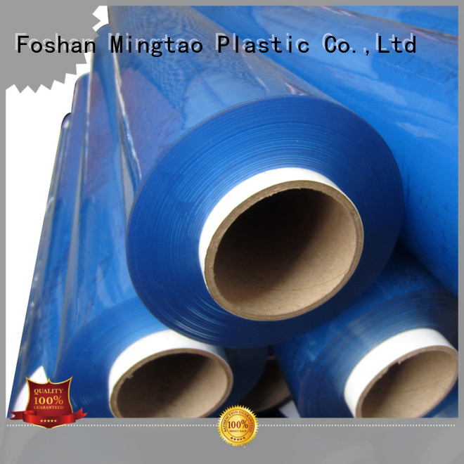 Mingtao funky clear pvc sheet bulk production for packing