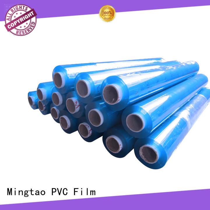 Mingtao soft pvc film bulk production for television cove